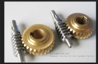 Can Small Orders Precision CNC Turning Machining Brass Worm High Quality Providing Samples
