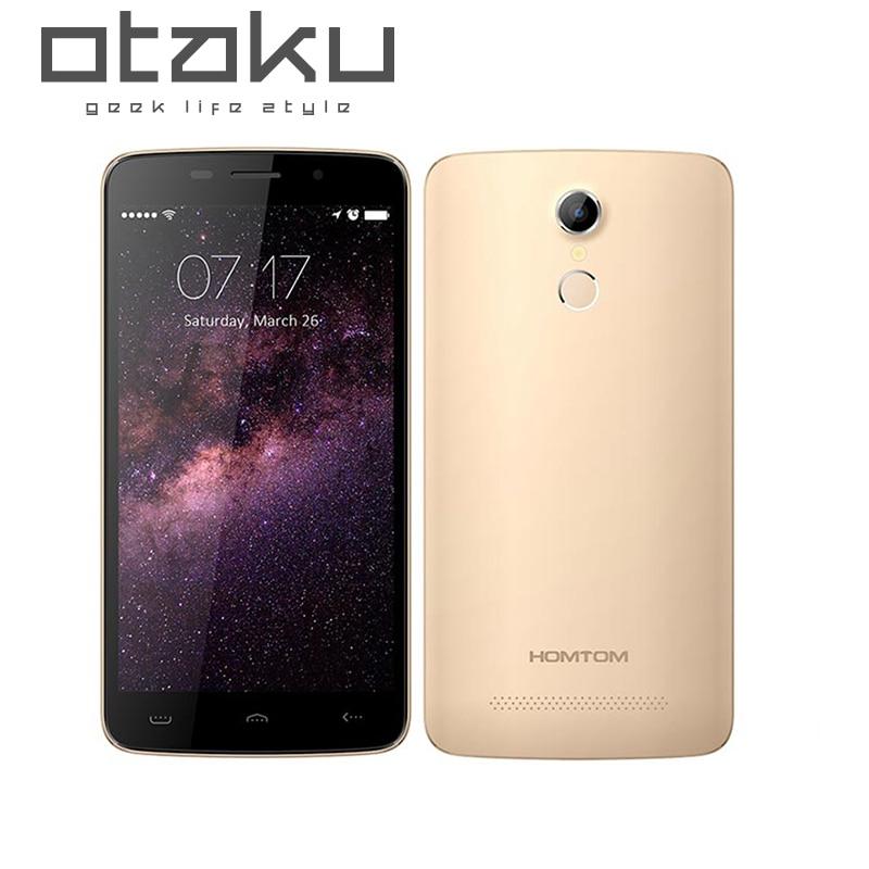 Original Homtom HT17 PRO Cellphone MTK6737 1 3GHz Quad Core 5 5 Inch HD Screen 2GB