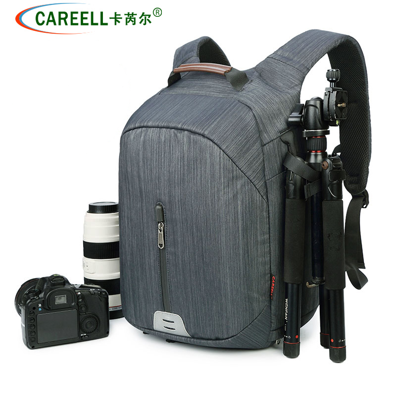 CAREELL C3073 Waterproof and lightweight multi-function camera bag shoulder SLR professional camera backpack lowepro protactic 450 aw backpack rain professional slr for two cameras bag shoulder camera bag dslr 15 inch laptop