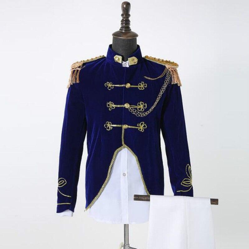 새로운 해군 유니폼, 군사 포트 나이트 코러스, 새로운 영국 스타일, 법원 서비스, 가수, 펑크 dj 서비스-에서남성용 세트부터 남성 의류 의  그룹 1