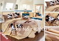 HOT ! Cartoon Happy Mickey Mouse Bedding Duvet Cover Set 4pcs with Duvet Cover, Bed Sheet & Pillow Shams-Twin/Full/Queen/King