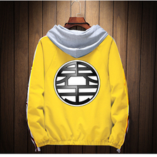 STAHUNTAR 2019 Anime Casual Men Dragon Ball Flying Couples winter Goku Zipper Naruto