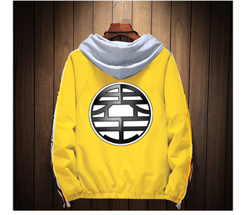 2019 Anime Casual Jacket Men Dragon Ball Flying  Jacket winter Goku Zipper Naruto Jacket Women Military Chaqueta Hombre