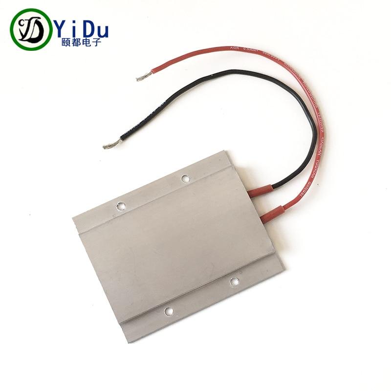 aluminum heater - 110V 150W constant temperature PTC heating element ceramic aluminum heater 77*62mm