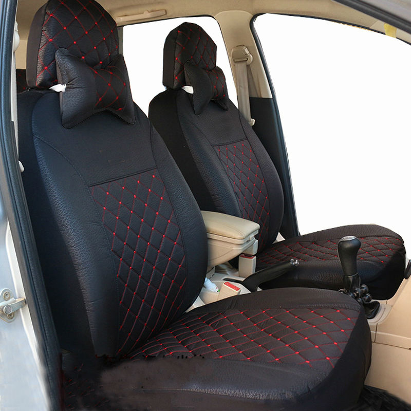 Carnong car seat cover universal size for toyota yaris camry verso prado 5 seat terios vios corolla reiz prius seat covers in Automobiles Seat Covers from Automobiles Motorcycles