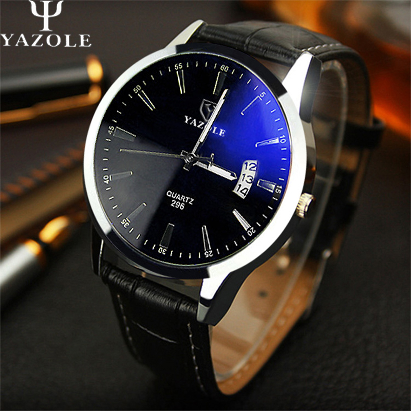 YAZOLE Quality Brand font b Watch b font Men font b Watches b font Male Clock