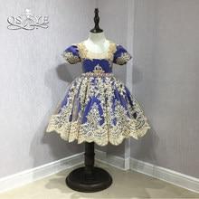 821c0a19e7 Royal Blue Dress Flower Girl Promotion-Shop for Promotional Royal ...
