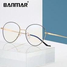 BANMAR Blue Light Glasses Anti Rays Radiation Blocking Men Women Computer Goggles Anti-UV Mirror Eyeglasses A2102