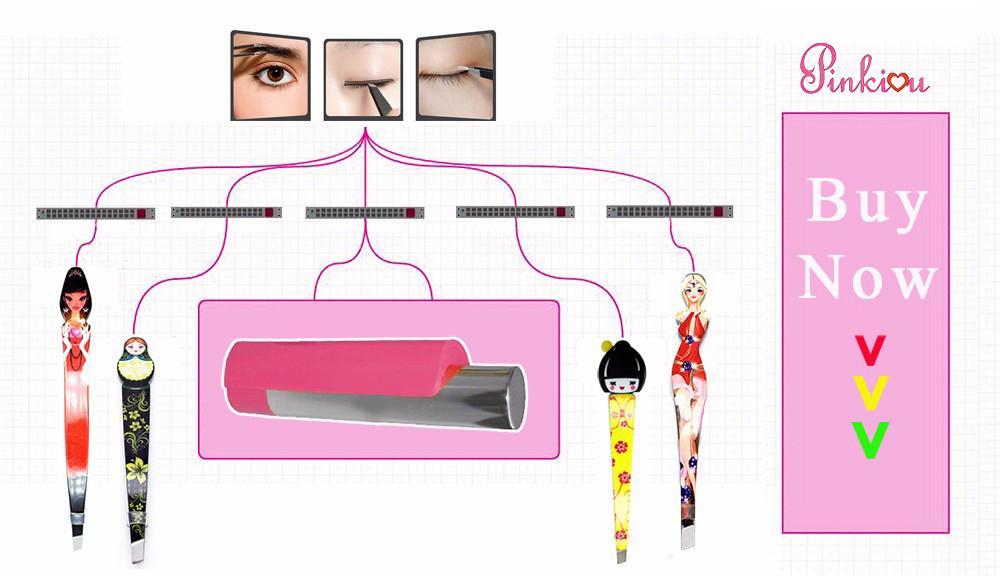 милый косметика для бровей ножницы русская кукла макияж красоты составляют инструмент ножницы вырезать маникюр нос с резким головы