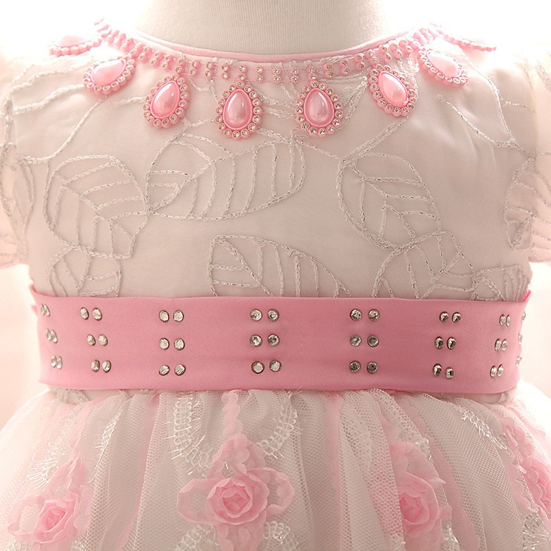 Newborn Birthday Dress (2)