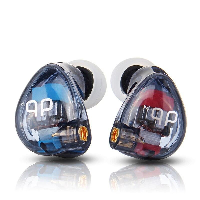 AUDBOS P4 3 Unités 4BA HiFi Dans L'oreille Écouteurs MMCX Armature Équilibrée BRICOLAGE Écouteur DJ Moniteur de Studio Écouteurs