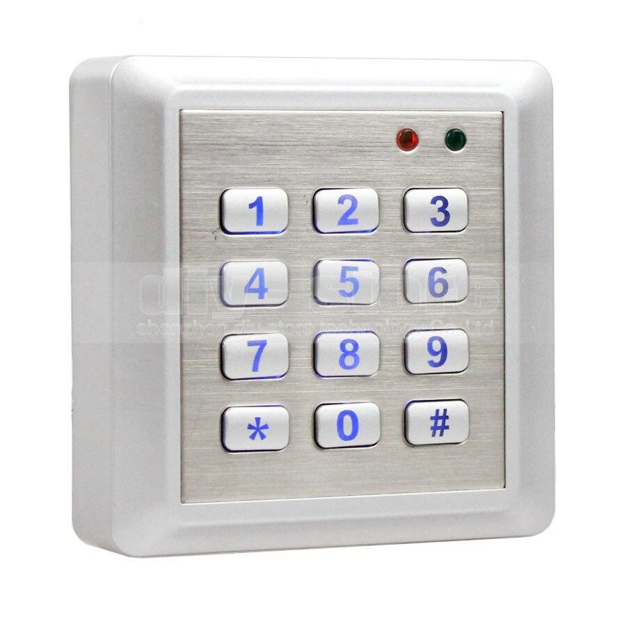DIYSECUR NOUVEAU Étanche 125 khz RFID Système de Contrôle D'accès par Lecteur Kit Clavier + 10 Cartes D'IDENTITÉ Porte-clés