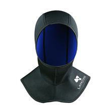 LayaTone 3mm Neoprene Diving Hood Men Wetsuit Hood With Shoulder Snorkeling Hat Scuba Diving Spearfishing Double Sided Hood Hat цена