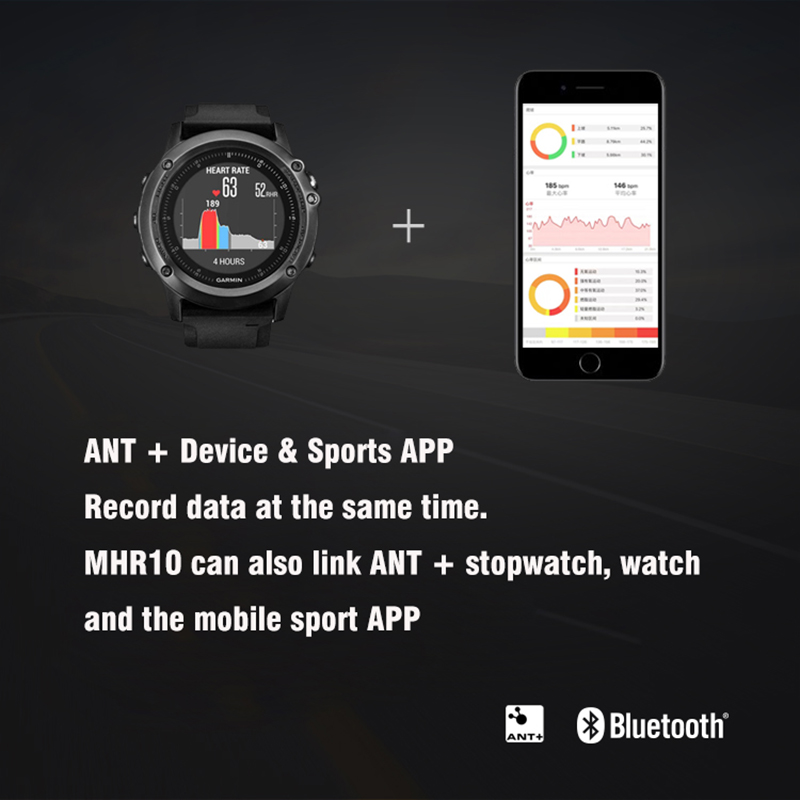 Bluetooth4.0/ANT+Heart Rate Sensor Compatible GARMIN Bryton IGPSPORT Computer Running Sports Bike Heart Rate Monitor Chest Strap garmin hrm tri heart rate transmitter and strap for swimming running cycling