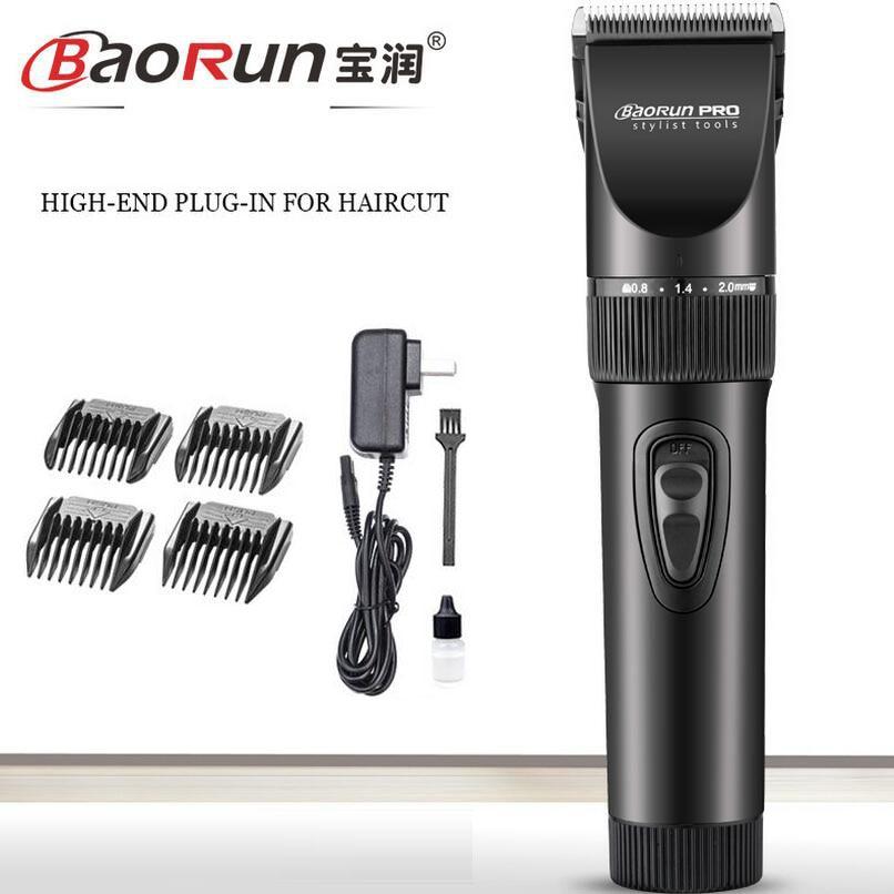 Original Professional Clippers Titanium Blade Hair Trimmer For Men Electric Cutter Hair Cutting Machine hairclipper For Barber proffi деревянное ps 0012