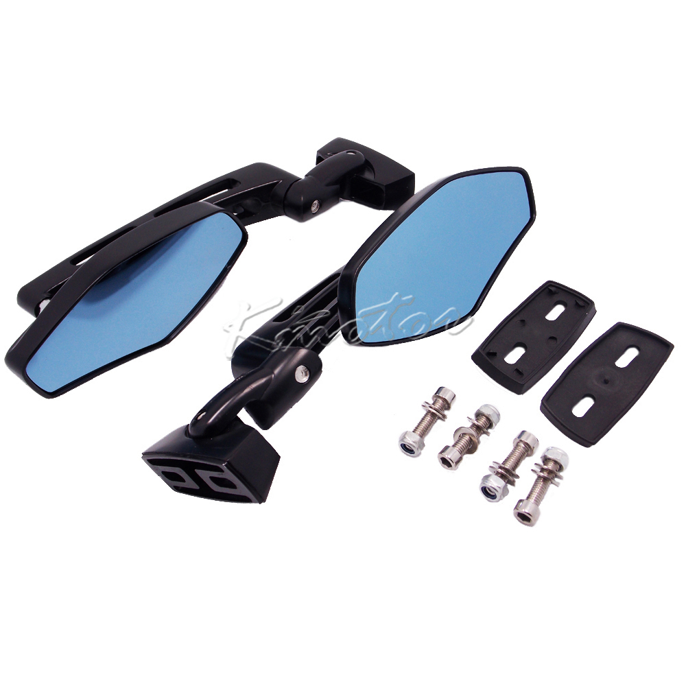 Universal CNC Motorcycle Scooter Bike Rearview Mirrors for Yamaha FZR YZF 600 600R R1 R6 R6S