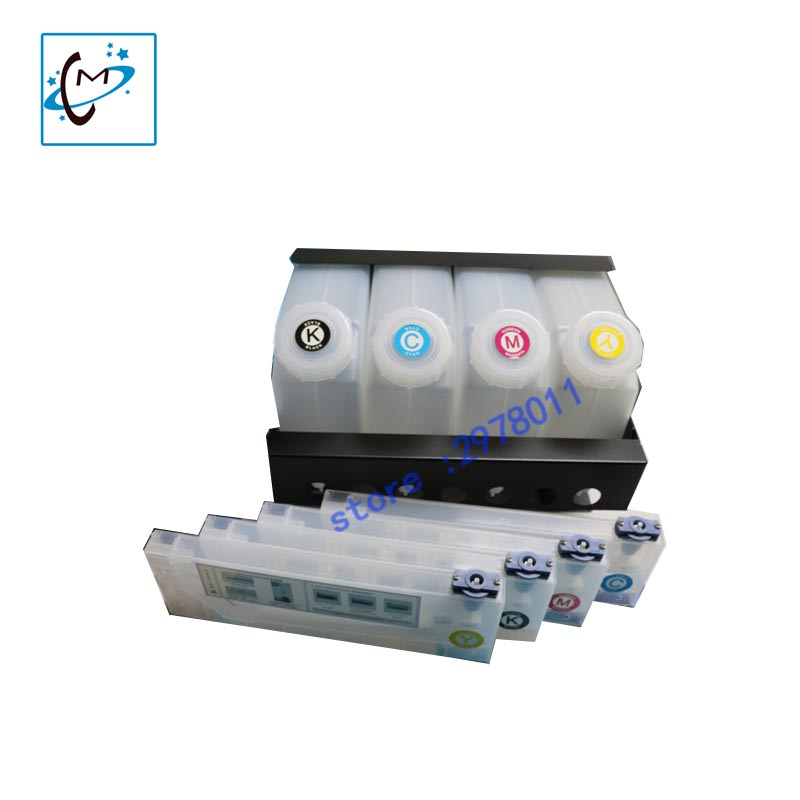 High quality !!! Skycolor Sunika Mutoh large format prinetr solvent 4 tank and 4 ink cartridge Continuous bulk Ink Supply System good quality 4 with 4 bulk iink supply system ink tanksupply system for mimaki roland mutoh eco solvent printer machine