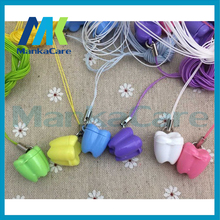 210 pcs/set Dental clinic small gifts deciduous teeth baby teeth box Milk teeth case pendant type Creative gift 10pcs dental clinic gift deciduous teeth bag primary teeth case the tooth fairy bag
