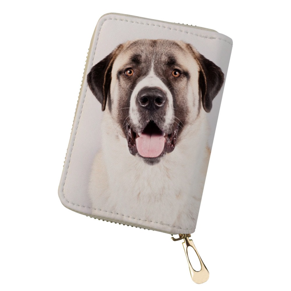 Puppy Dog Labrador Leather Passport Holder Cover Case Travel One Pocket
