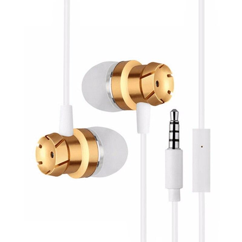 In-ear Earphone Headset Hifi Earbuds Bass Earphones for iPhone 6 6S Xiaomi Ear Phones Earphone