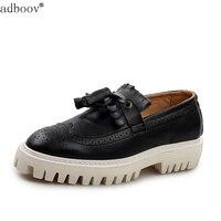 British Baroque Fashion Style Men S Flat Platform Shoes Carve Patterns Grace Man Brand Designs Casual
