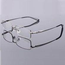 Handoer Mannen Brillen Frame Pure Titanium Optische Bril Recept Bril Volledige Rand Brillen Metalen Frame Bril Frame
