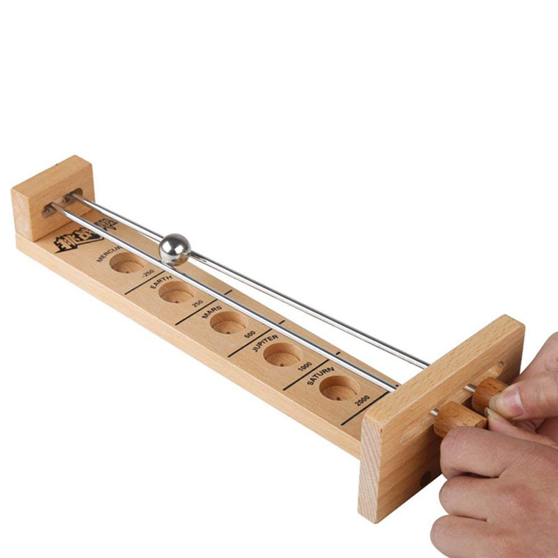 Kids Toys Hook The Ball To Challenge The Limit Game Wood Wooden Educational Games Children Wooden Toys
