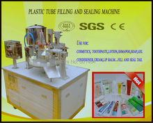 cream fill   plastic tube  sealing machine