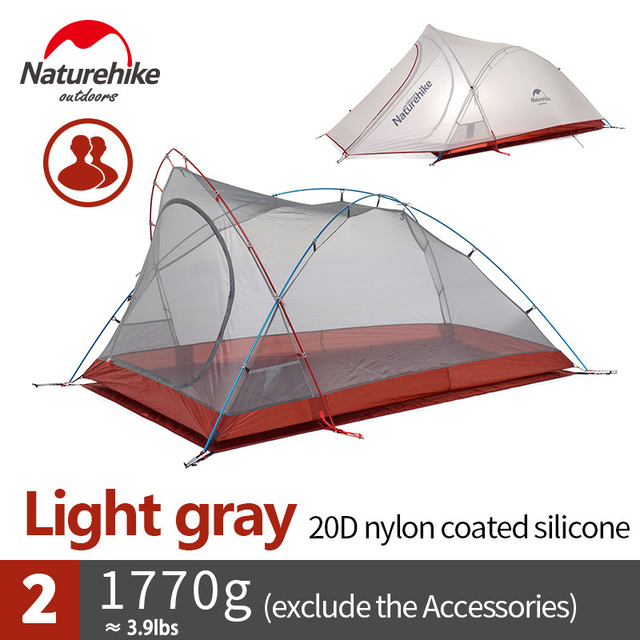 Naturehike Ultralight 2 Person 3 Season C&ing Tent Mountaineering Double Layers Rainproof Tent  sc 1 st  AliExpress.com : rainproof tent - memphite.com