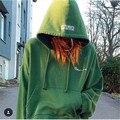 Mulheres Hiphop Streetwear kanye west Roupas hoodie do logotipo caixa 3in1 Tops Vetements Polícia Torcida Hoodies Reversíveis