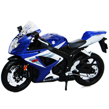 Maisto GSX R750 1:12 Diecast Metal Motocycle Toy, Simulation Motor Models,Vehicle Motor Toy, Kids Toys / Brinquedos