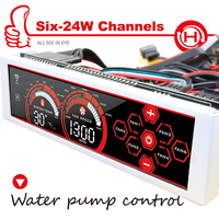ALSEYE A 100L WR 6 Channel Computer Fan Controller Fan Speed Controller Gaming Fan 5 25