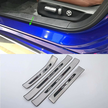 AUTO ACCESSORIES stainless steel exterior door scuff plate Car Styling accessories For HONDA ACCORD 2018