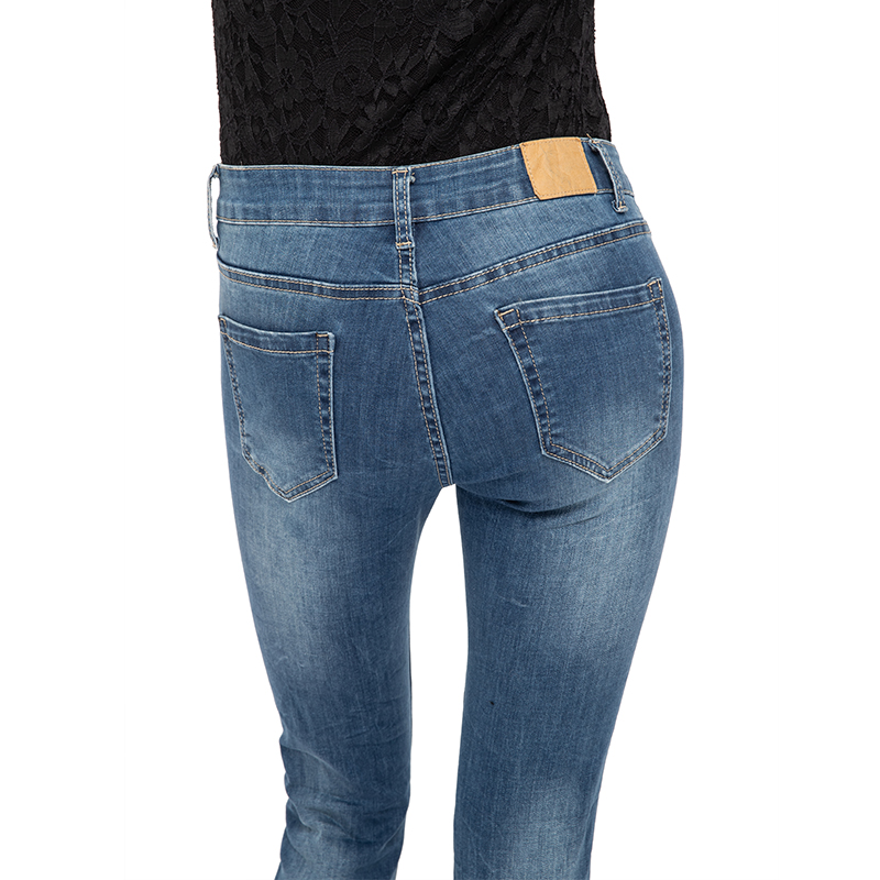 My Will Jeans Fashion Women Jeans 6811 Made In China