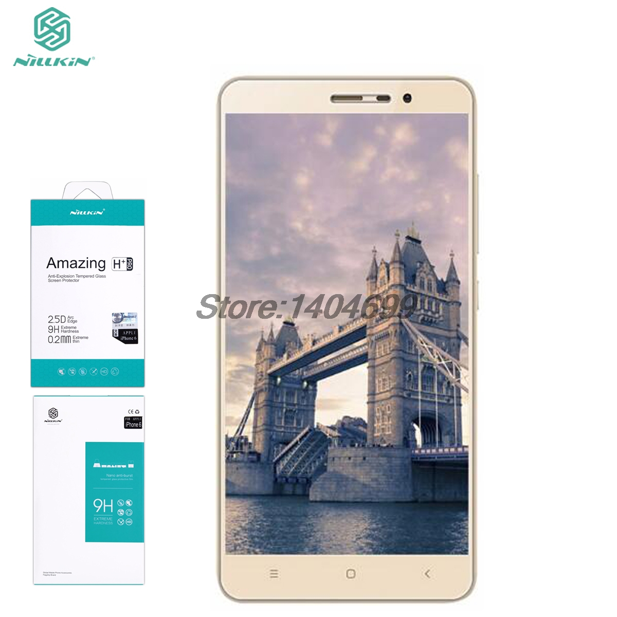 Xiaomi Redmi Note 3 Screen Protector Nillkin Amazing H H PRO Tempered Glass For Xiaomi Redmi