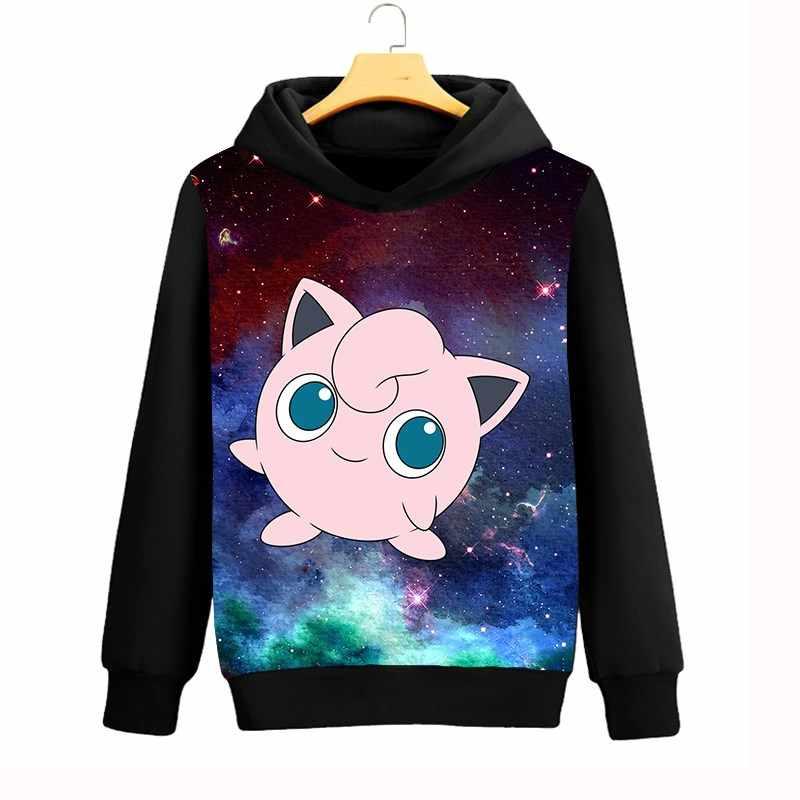c447c43a7be2 ... Pokemon Jigglypuff Mens Hoodies Galaxy Space 3D Sweatshirts Women Men  Casual Hooded Coat Autumn Winter Streetwear ...