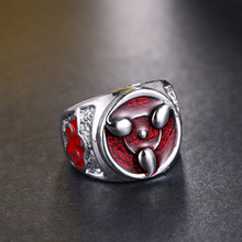 Naruto Sharingan Patterned Ring