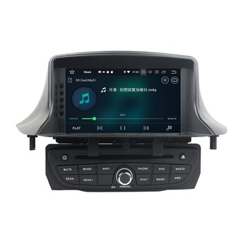 Android 8.0 Octa Core Car Multimedia DVDGPS for Renault Megane III Fluence 2009-2016 4GB RAM Radio Bluetooth WiFi Mirror-link image