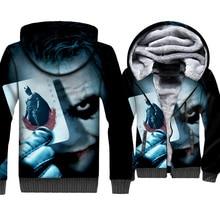 BATMAN The Dark Knight 3D Printed Jackets Male 2018 Autumn Winter Hooded Hoddie Streetwear Joker Sweatshirits For Men Hoodies цена и фото