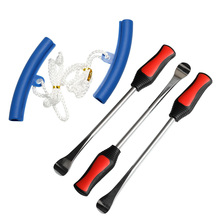 5pcs/Pack Tire Change Tool Set Dismounting Mounting Kit Tyre Spoon Lever Tools Rim Protector Sheaths For Motorcycle Car