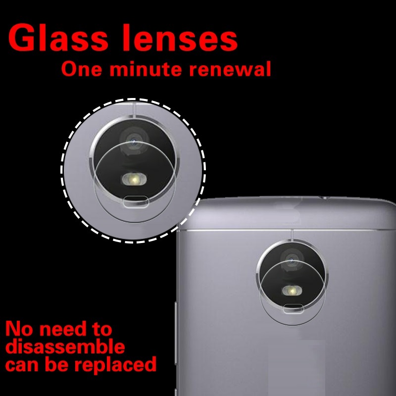 Anti-Shatter & Scarches Back Camera Lens Tempered Glass Film For Motolora Moto G5S XT1795 XT1797 XT1794 Camera Protector Film