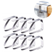 Clip Tablecloth-Clamps Table-Cover-Holder Stainless-Steel Adjustable Wedding-Promenade