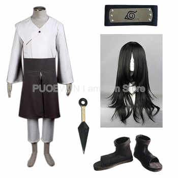 Anime Naruto Hyuuga Neji  Cosplay Costume Full Set with Wig - DISCOUNT ITEM  27% OFF All Category