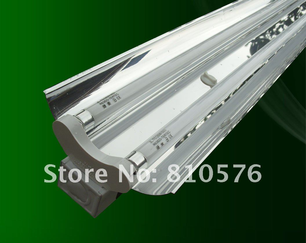 New project high power t5 double tube light fixture with mirror new project high power t5 double tube light fixture with mirror reflector free shipping in energy saving fluorescent from lights lighting on arubaitofo Image collections