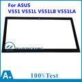 """Nuevo 15.6 """"pantalla táctil digitalizador de repuesto para asus v551 v551l v551lb v551la pantalla táctil de cristal digitalizador top15i97 v1.0"""