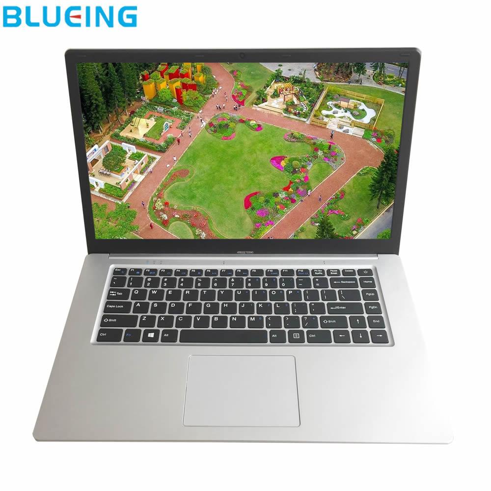 Gameing laptop 15.6 polegada 6 GB de RAM 128 GB grande bateria de ultra-fino Windows 10 WIFI computador Portátil bluetooth PC frete grátis