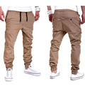 Men's Casual Bottom Pants Casual Collapse Cotton Trousers For School Party