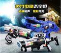 Sonido eléctrico y luz arma del espacio prop Airsoft pistola pistola sonido eléctrico pistola de juguete modelo #14