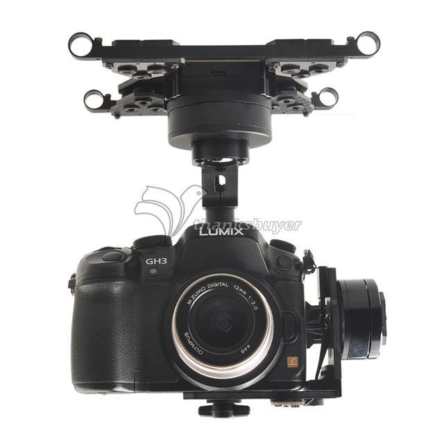 HG3D FPV Mini DSLR $ Number Ejes Sin Escobillas Cardán de Montaje de Cámara PTZ para Multicopter de GH3 GH4 NEX5 A5000 6000 A7