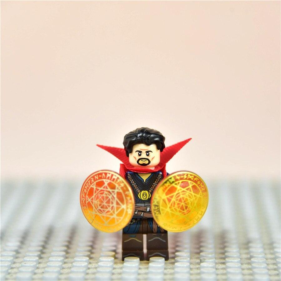 12pieces 4.3cm Avengers 3 Infinity War Super Hero Doctor Strange Vinyl Action Figures Children Toy
